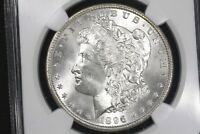 1896 MORGAN DOLLAR NGC MS 65