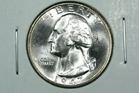 1947 S WASHINGTON QUARTER FLASHY CHOICE BU