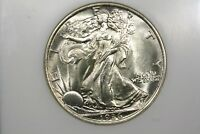 1936 WALKING LIBERTY HALF NGC MS 65