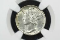 1940 MERCURY DIME NGC MS 65 FB