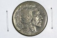1937 BUFFALO NICKEL CHOICE AU