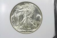 1943 WALKING LIBERTY HALF BU