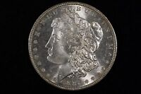 1887 $1 MORGAN SILVER DOLLAR CHOICE TO GEM BU SEMI PROOFLIKE