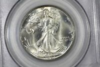 1937 D WALKING LIBERTY HALF PCGS MS 65
