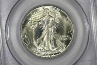 1937 S WALKING LIBERTY HALF PCGS MS 65