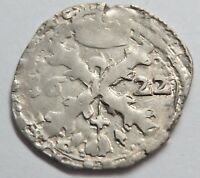 1/32 PATAGON 1622  PHILIPPE IV  SILBER  23.3 MM    2.33 G