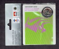 25C FREESTYLE SKIING VANCOUVER 2010 PETRO CAN  RED MAPLE LEA