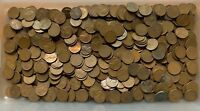 500  10 ROLLS  WHEAT BACK CENTS  PRE 1959  COIN COLLECTION