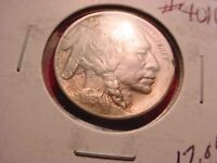 1913 BUFFALO NICKEL VARIETY I RAISED GROUND STRONG HORN COIN  4016