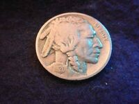 1920-D BUFFALO NICKEL SUPERIOR FULL DATE COIN     10