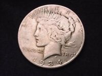 1934-S PEACE DOLLAR SUPERIOR KEY DATE COIN  53