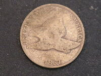 1857 FLYING EAGLE CENT SCAN SHOWS EXACT COIN 3711