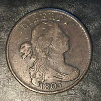 1803 LARGE CENT - HIGH QUALITY SCANS F605