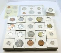 223 ASSORTED FOREIGN COINS