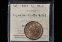 1888 CANADA. LARGE CENT.