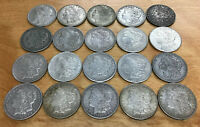 20 COIN ROLL   1921 P D & S MINTED   US MORGAN SILVER DOLLAR