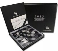 2013 LIMITED EDITION SILVER PROOF SET W/ OGP & COA