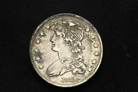 1835 CAPPED BUST QUARTER DOLLAR SILVER