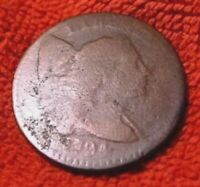 1794 LARGE CENT LIBERTY CAP  2ND YEAR MADE LOW NUMBER MINTED