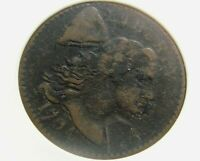 1794 US FLOWING HAIR LARGE CENT, ANACS VG10,