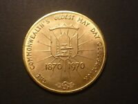 1970 NEW WESTMINSTER BC TRADE DOLLAR BC10R   BRASS ONLY 100 MINTED