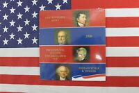 2008 PRESIDENTIAL DOLLAR 8 UNCIRCULATED $1 COINS P AND D US MINT SET SATIN