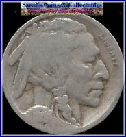 1918-D BUFFALO NICKEL  DATE  GOOD COIN VALUES $31  BUY $15 SHIPS FREE