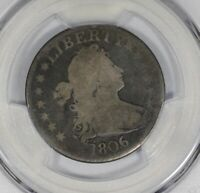 1806/5 DRAPED BUST QUARTER PCGS G04 BROWNING 1 NICE CIRCULATED LOOK