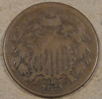 1871 TWO CENTS VG