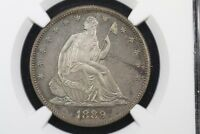 Click now to see the BUY IT NOW Price! 1889 GEM PROOF LIBERTY SEATED HALF DOLLAR NGC PF 65