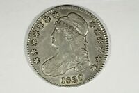 1830 CAPPED BUST HALF SMALL 0 O 103 R1 CHOICE XF
