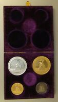 COMPLETE SET OF  4  1876 CENTENNIAL MEDALS IN THE ORIGINAL B