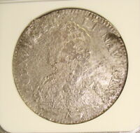 1762 LA DROMADAIRE SHIPWRECK RECOVERED 1730 N FRANCE SILVER