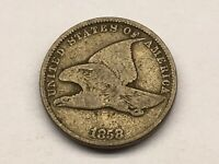 1858 FLYING EAGLE CENT SMALL LETTERS 3