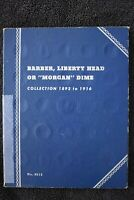 1892- 1916 BARBER SILVER DIME COLLECTION 60 COINS MANY KEY DATES INCLUDED
