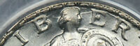 PCGS MINT STATE 64 1926-D STANDING LIBERTY QUARTER OBV. DIE CRACK RETAINED CUD ERROR