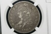 1808/7 O-101 CAPPED BUST HALF, NGC EXTRA FINE -40