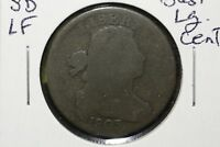 1803 DRAPED BUST LARGE CENT, SMALL DATE, LARGE FRAC., GOOD