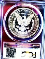 MORGAN SILVER DOLLAR 1882 P PCGS MINT STATE 64 SHOULD BE PL GLASSY  DATE