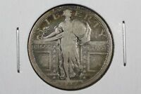1917-S TYPE 1 STANDING LIBERTY QUARTER, VG