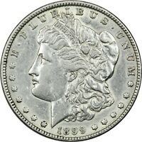 1899 MORGAN SILVER DOLLAR $1,  FINE EXTRA FINE . CLEANED
