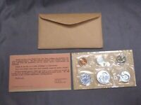 1961 PROOF SET WITH COA   FLAT PACK ORIGINAL ENVELOPE   US S