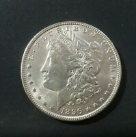 1896 MORGAN SILVER DOLLAR $1 VAM 11 R4