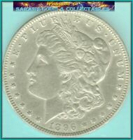 1896-O MORGAN    ABOUT UNCIRCULATED COIN VALUES $125 BUY $49 SHIPS FREE