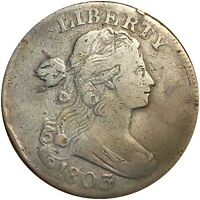 1803 DRAPED BUST LARGE CENT NICELY CIRCULATED BEAUTIFUL COPP