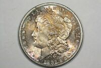 1882-S MORGAN DOLLAR, NEAR GEM TONED BU