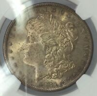 1881 S MORGAN SILVER DOLLAR MINT STATE 64 NGC