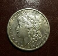 1897 S  SAN FRANCISCO$1 MORGAN SILVER DOLLAR