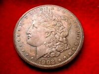 1902-0 MORGAN DOLLAR SUPERIOR BU RAINBOW TONED DOLLAR  3