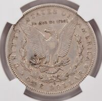 NGC $1 1891-O MORGAN DOLLAR RETAINED CUD REVERSE EXTRA FINE  DETAILS